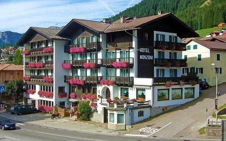 Itálie - Val di Fassa e Carezza na 5 až 8 dní, polopenze s dopravou vlastní