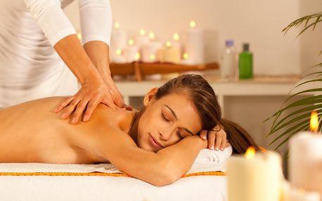 Královská relaxace: hodinová masáž dle výběru