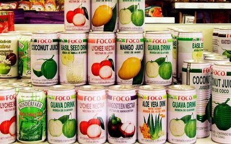 Exotické nealko drinky Foco v plechovce
