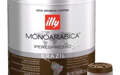 Kávové kapsle Illy Monoarabica Brazil 21 ks