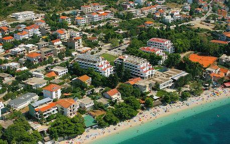 Chorvatsko - Gradac na 10 dní, light all inclusive, plná penze nebo polopenze s dopravou autobusem