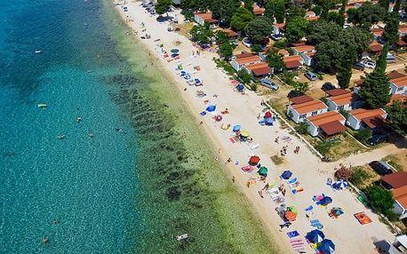 Chorvatsko - Ostrov Pag na 8 dní, bez stravy s dopravou vlastní