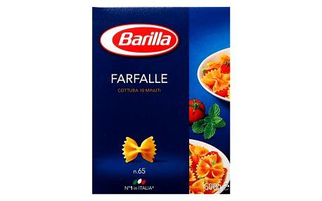 Těstoviny Farfalle Barilla 500 g