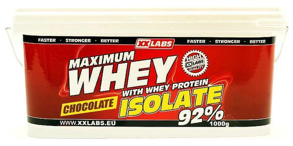 XXLabs Maximum Whey Protein Isolate 1000 g Čokoláda