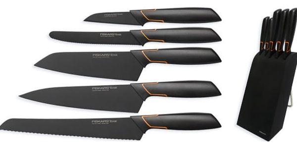 Fiskars Edge blok s 5 noži; 1003099