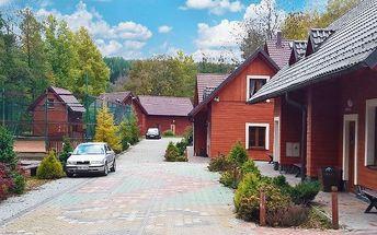 Chaty v hotelovém komplexu Avalanche Dolní Moravice