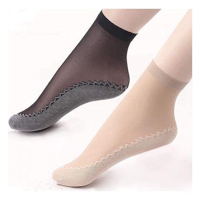 5 párů dámských letních silonkových ponožek