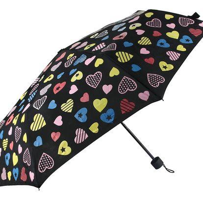 Skládací deštník s proměnlivými barvami Magic