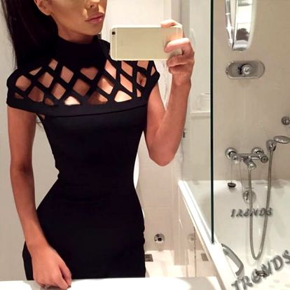 Sexy šaty pro dámy - 3 barvy