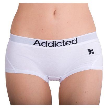 Dámské Kalhotky Addicted - Bílá