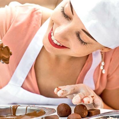 Kurz výroby a zdobení čokolády vč. ochutnávek