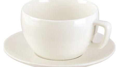 TESCOMA šálek snídaňový CREMA, s podšálkem