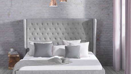 Čalouněná postel claude, 188/138/213 cm