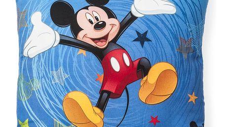 Jerry Fabrics Polštářek Mickey 2016, 40 x 40 cm