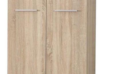 Šatní skříň LIMA REG-2 dub sonoma Halmar