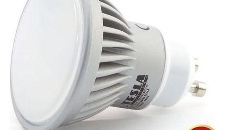 Žárovka LED Tesla bodová, 7W, GU10, teplá bílá (GU100730-4)