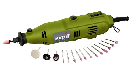 Mini bruska EXTOL Craft 404111, 130 W