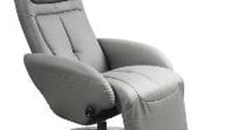 Relaxační křeslo Optima šedé Halmar
