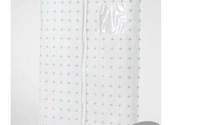 Sada 2 bílých závěsných obalů na šaty Compactor Garment, délka100cm