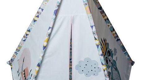 Dívčí čtvercové teepee VIGVAM Design Cute Tribe