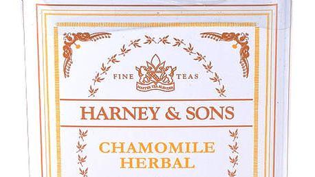 Harney & Sons Chamomile Herbal heřmánkový bylinný čaj 20 sáčků v plechové krabičce