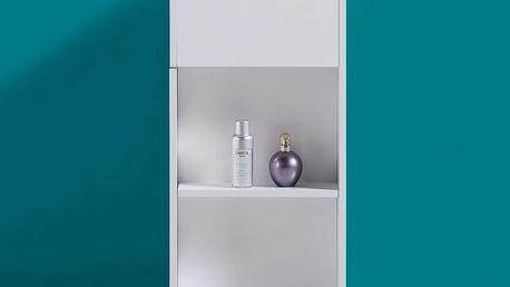 Regál do koupelny bianco, 30,6/66/30 cm