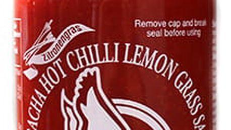Chilli omáčka Sriracha hot s citronovou trávou 455 ml