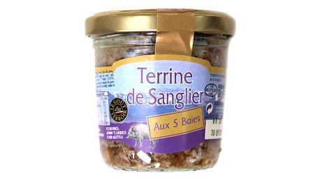 Kančí terina Le goût du terroir 90 g