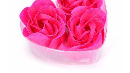 Romantická mýdla Růže