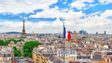 Paříž na 4 dny s prohlídkou města a muzeí