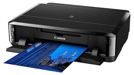 Tiskárna inkoustová Canon PIXMA iP7250 černá (A4, 15str./min, 10str./min, 9600 x 2400, WF, USB) (6219B006)