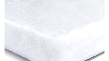 Jahu Prostěradlo Mikroplyš bílá