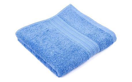 Kvalitex Osuška Basic modrá, 70 x 140 cm