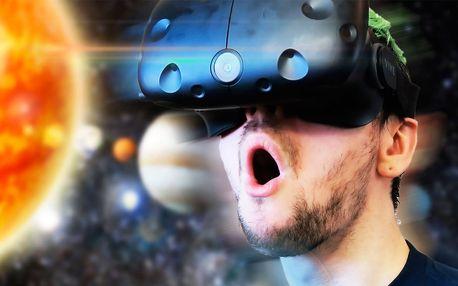 1 hod. virtuální reality HTC VIVE pro partu