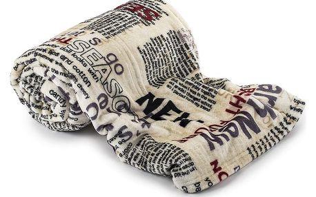 Jahu Deka Light Sleep New Newspaper, 150 x 200 cm
