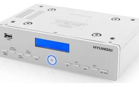 Hyundai KR 815PLLU stříbrný/bílý