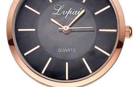 Dámské hodinky s úzkým kovovým páskem - různé barvy