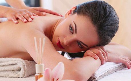 Balíčky 3 či 5 relaxačních masáží se zábalem