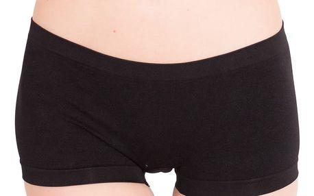 Dámské kalhotky Molvy bezešvé boxer shorts black