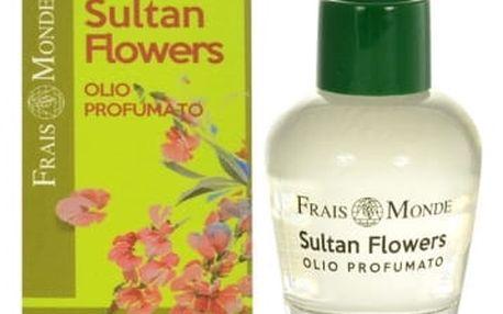 Frais Monde Sultan Flowers 12 ml parfémovaný olej pro ženy