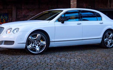 Zážitková jízda luxusním vozem Bentley CFS W12