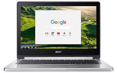 Notebook Acer R13 (CB5-312T-K1RC) (NX.GL4EC.002) stříbrný Software Microsoft Office 365 pro jednotlivce CZ ESD licence + Software F-Secure SAFE, 3 zařízení / 6 měsíců v hodnotě 1 978 Kč + DOPRAVA ZDARMA