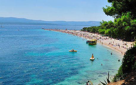 Resort Dalmacija, Příjemný resort s rodinnými bungalovy přímo u moře