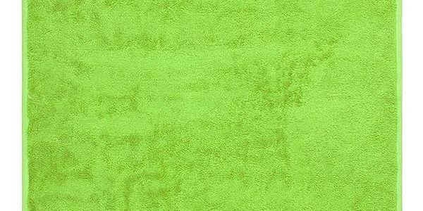 Night in Colours Ručník Bamboo Gold světle zelená