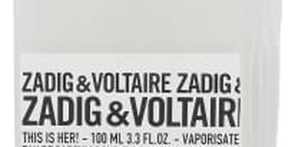 Zadig & Voltaire This is Her! 100 ml parfémovaná voda tester pro ženy