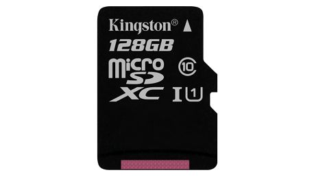 Paměťová karta Kingston Canvas Select MicroSDXC 128GB UHS-I U1 (80R/10W) (SDCS/128GBSP)