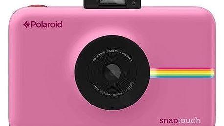 Digitální fotoaparát Polaroid SNAP TOUCH Instant Digital růžový (POLSTBP)