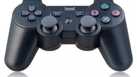 Bezdrátový ovladač pro PS3 - černý - dodání do 2 dnů