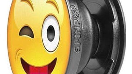 SpinPop univerzální držák - Emoji - vypláznutý jazyk (tongue out emoji)