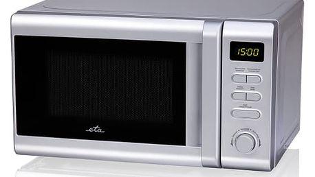 Mikrovlnná trouba ETA Klasico 2208 90000 stříbrná